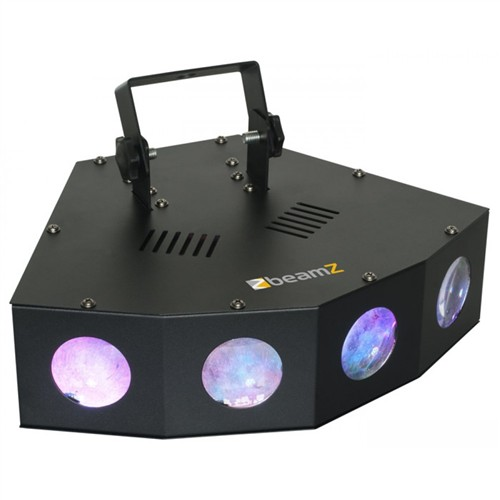 BeamZ LED Mini 4 Moon 72x 5mm LED RGB, světelný efekt