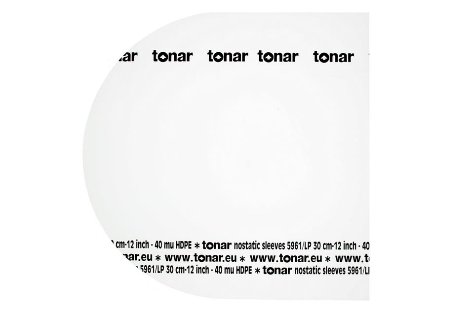 "tonar LP 12"" NOSTATIC Sleeves"
